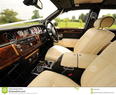 Luxury Car Upholstery by Luxury Interior Of Car Stock Photo Image Of Wealthy
