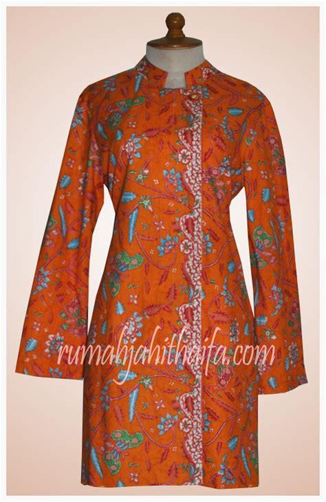 Jahit Blazer Wanita Model Jahitan Baju Blazer Batik Rumah Jahit Haifa
