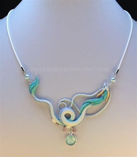 dragon necklace haku by gatobob on deviantart