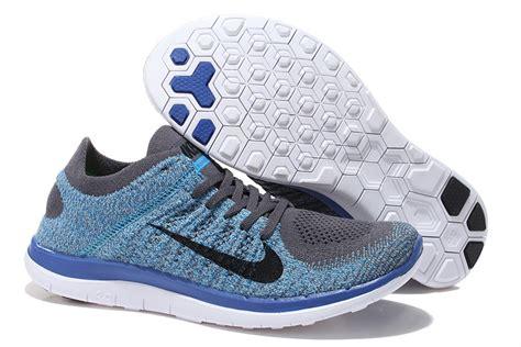 Nime Flyjnit Running N Casual Shoes nike free 4 0 flyknit running shoes casual shoes breathable shoes gray blue rjtoduv