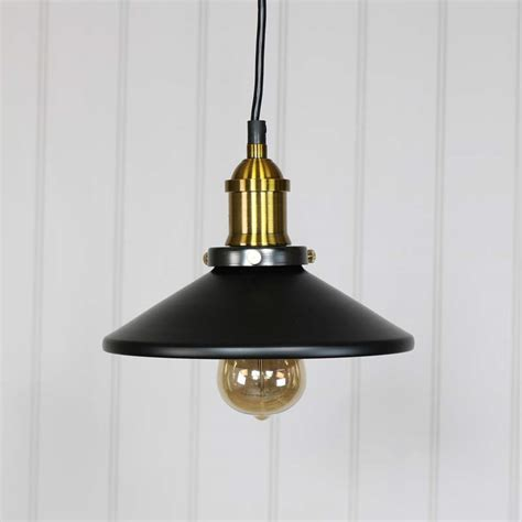 Industrial Style Pendant Lights Black Retro Industrial Style Pendant Light Fitting Melody Maison 174