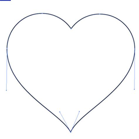 draw heart illustrator how to make a perfect illustrator heart shape for your