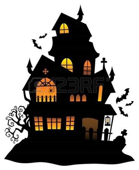 Haunted House Clipart by Haunted Castle Clipart Best