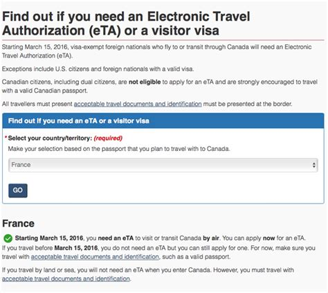 Email Search Canada Free Program Travel Authorization Program