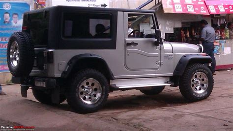 hardtop mahindra thar the most practical best looking hardtop mahindra thar