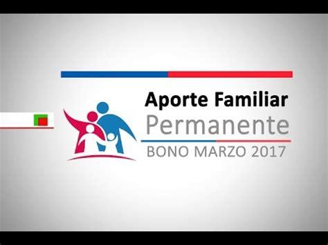 bono marzo 2016 aporte familiar permanente bono marzo bono marzo 2017 consultar buzzpls com