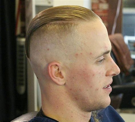 military haircuts in colorado springs ultra high and tight slick back haircuts for balding man