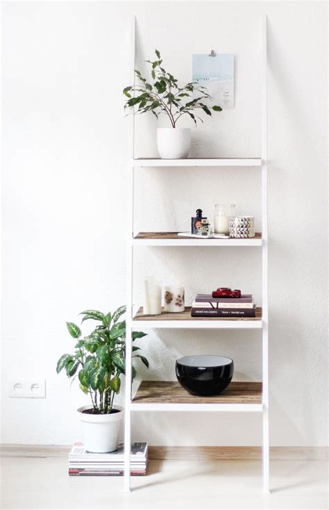 bathroom ladder shelf white 25 best ideas about ladder shelves on leaning