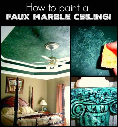 how to faux paint a wall how to paint a faux marble ceiling hometalk