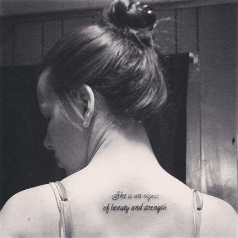 tattoo quotes about strength and beauty tattoo strength beauty immortality tattoos