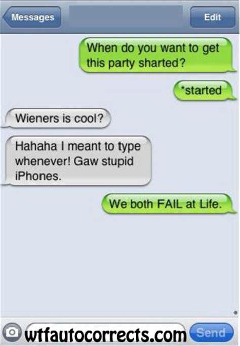 Double Fail Text - wtf auto correct funny hilarious iphone autocorrect