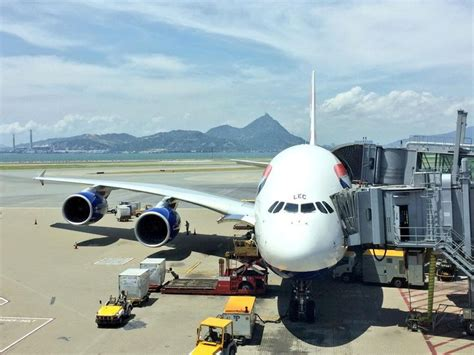 airways a380 loading cargo at the gate cargo airlines airways world cargo