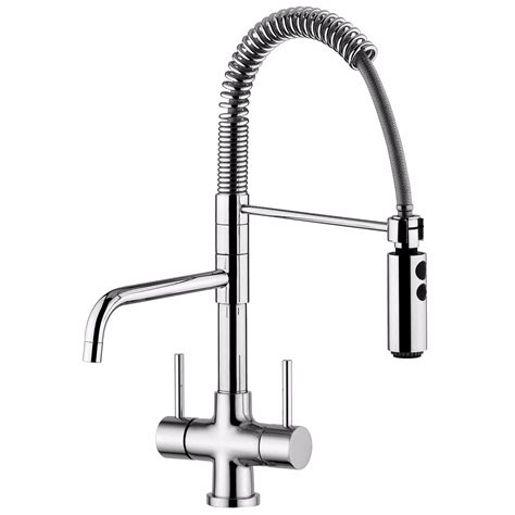 Kitchen Tap With Shower by 3 Way Triflow Kitchen Taps Softeners