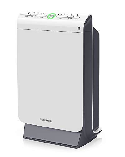 naturalife accurate hepa air purifier 4 phase filtration and ionization technique for