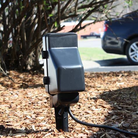 backyard camera outdoor hidden camera power stake camera and dvr zone shield