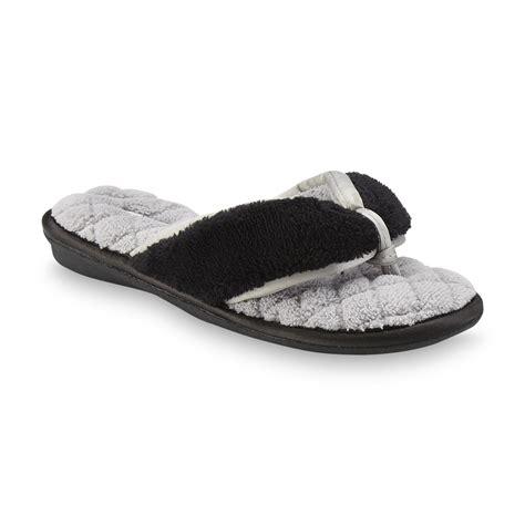 slipper flip flops for s pink k s clarissa flip flop slipper black gray