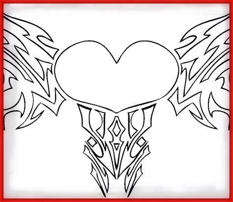 imagenes para dibujar grandes imagenes de corazones bonitas y grades para dibujar