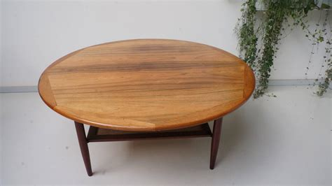 Large Wooden Coffee Tables Large Wooden Coffee Table 1960s At 1stdibs