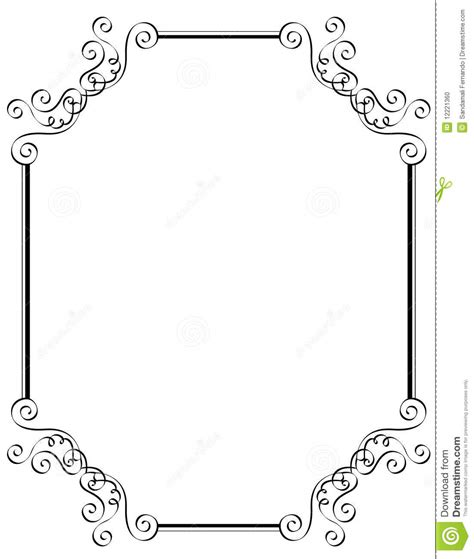 Where Can I Use A Borders Gift Card - invitation border frame stock photo image 12221360