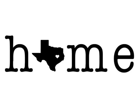 home stencil i love texas home stencil wooden pallet home sign