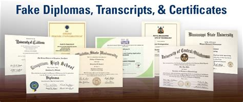 Fake College Diploma, Degree And University Certificates