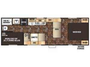 Forest River Travel Trailers Floor Plans by Grey Wolf Travel Trailer Sales Travel Trailer Dealer