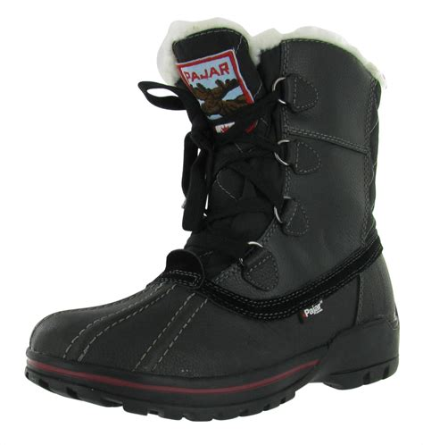 mens snow hiking boots pajar banff s snow boots hiking outdoor waterproof