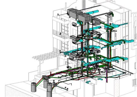 Plumbing Revit by Mechanical Designing Drafting Services India 2d