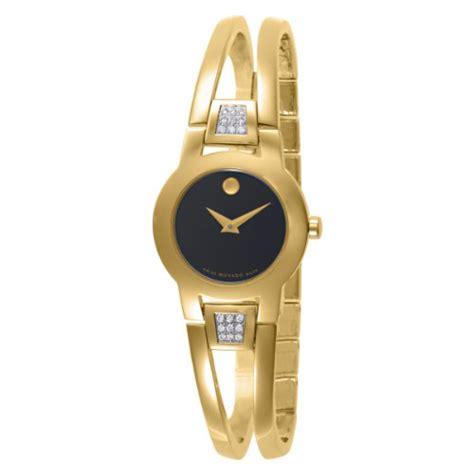 black friday movado s 604984 amorosa gold plated