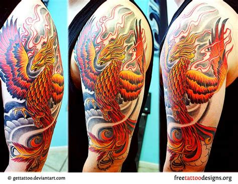 phoenix tattoo men tattoos 75 cool designs