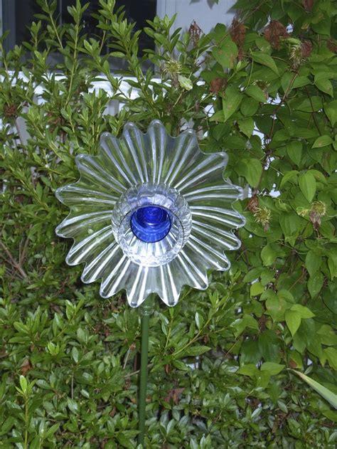 Glass Garden Flowers Photograph Garden Art Glass Flower Glass Garden Flowers