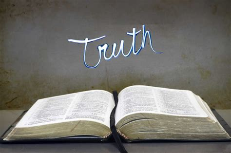 the question is not quot is the bible true quot but rather quot how