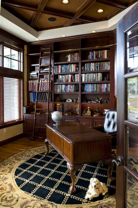 library office traditional home office minneapolis