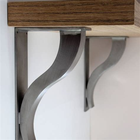 kitchen cabinet metal shelf supports 12 best stainless steel bar bracket images on