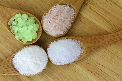 different types of salt ls what is difference between epsom salts and table salt