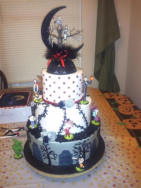 Nightmare Before Cake Ideas - nightmare before wedding dress search