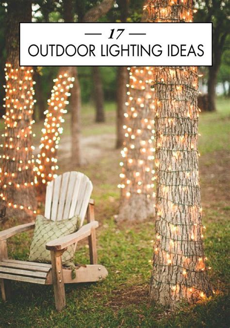 outdoor cocktail ideas 17 outdoor lighting ideas for the garden beautiful