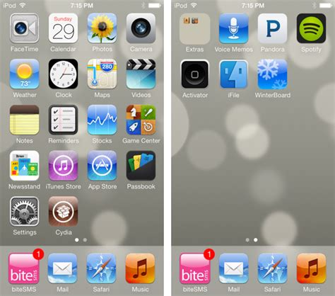 themes for iphone 6 ios 9 how to make the stock ios 7 app icons look like ios 6