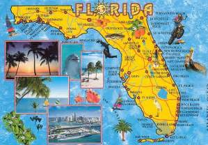 map of florida attractions florida spots rainbow country travel tours