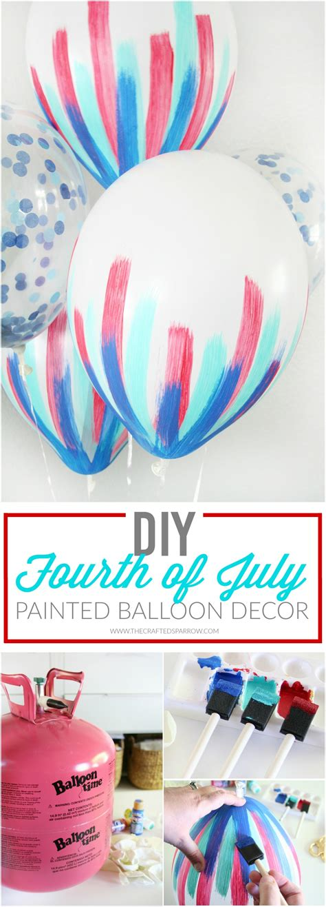 4th Of July Balloon Decorations by Diy 4th Of July Balloon Decor Holidays Craft And