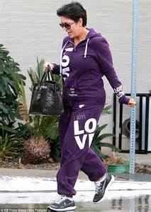 Kris Jenner steps out without her wedding ring as she ...