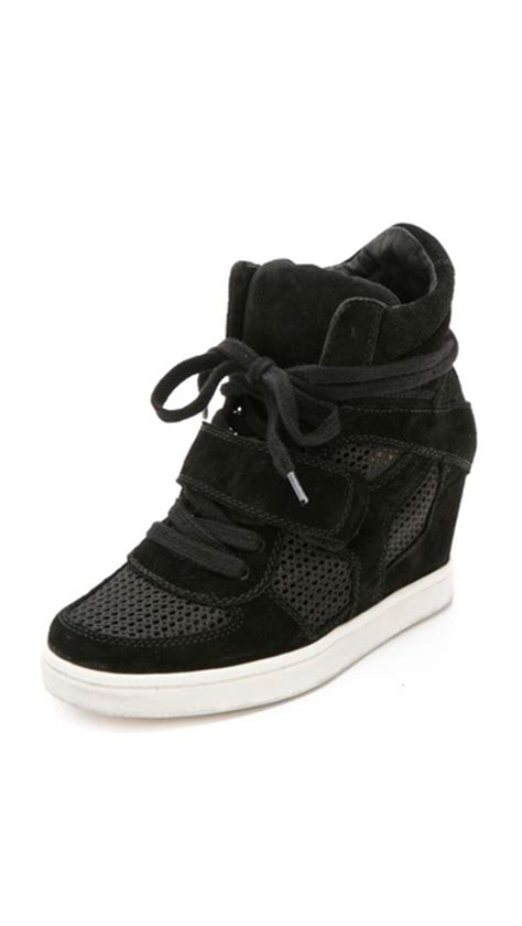 ash cool wedge sneakers ash cool wedge sneakers with mesh insets shopbop