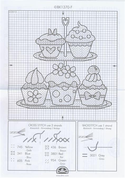 graficos punto de cruz cocina cupcake grafico cocina punto de cruz punto de cruz