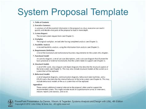 business analysis proposal template choice image