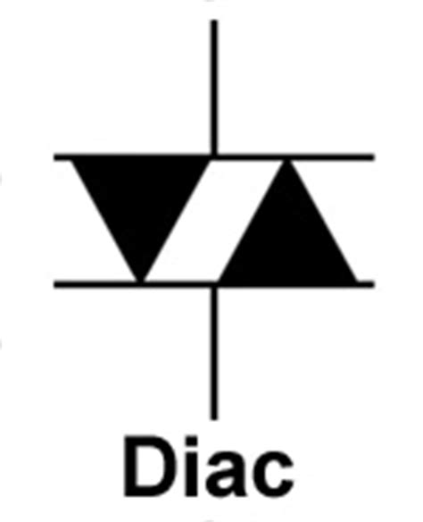 trigger diode symbol semiconductors thyristors and more