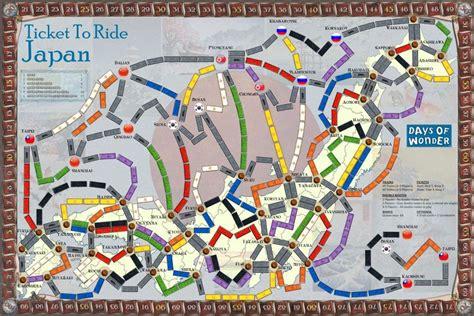 ticket to ride testo regole per giocare a ticket to ride io