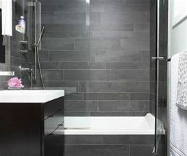 Gray Bathrooms Ideas by Gray Slate Tile Bathroom House Decor Ideas