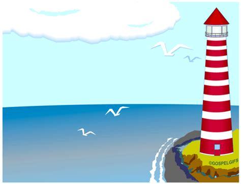 clip art image christian lighthouse background note 2 image 8043