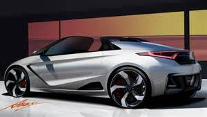 car honda new honda previews new convertible sports car with s660 concept