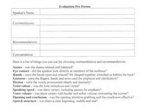 evaluation guide fremantle toastmasters vq public
